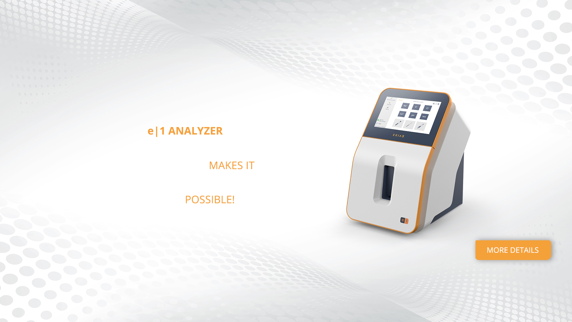 Electrolyte Analyzer | EXIAS Medical