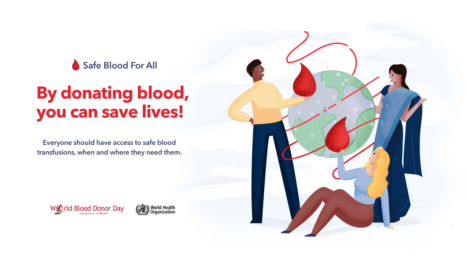 EXIAS Medical   World Blood Donor Day 2019