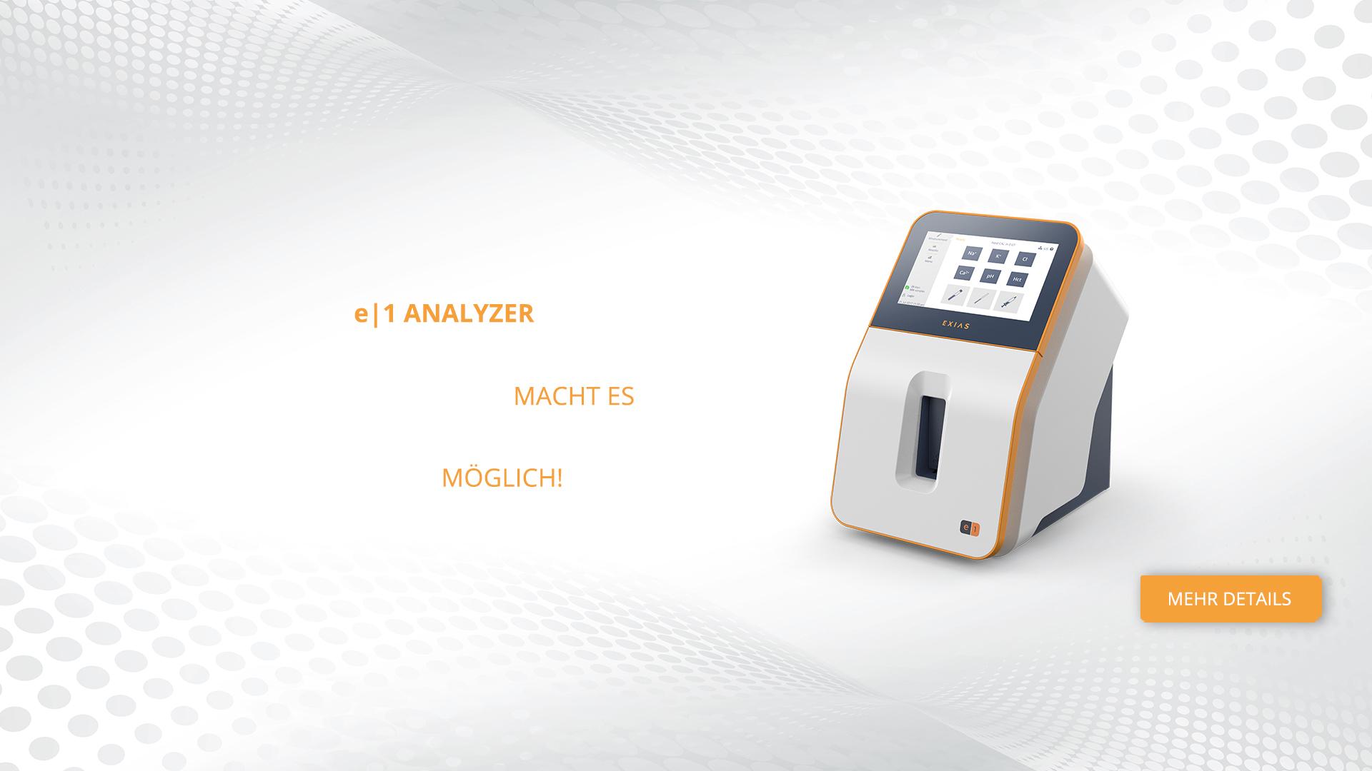 Electrolyte Analyzer   EXIAS Medical